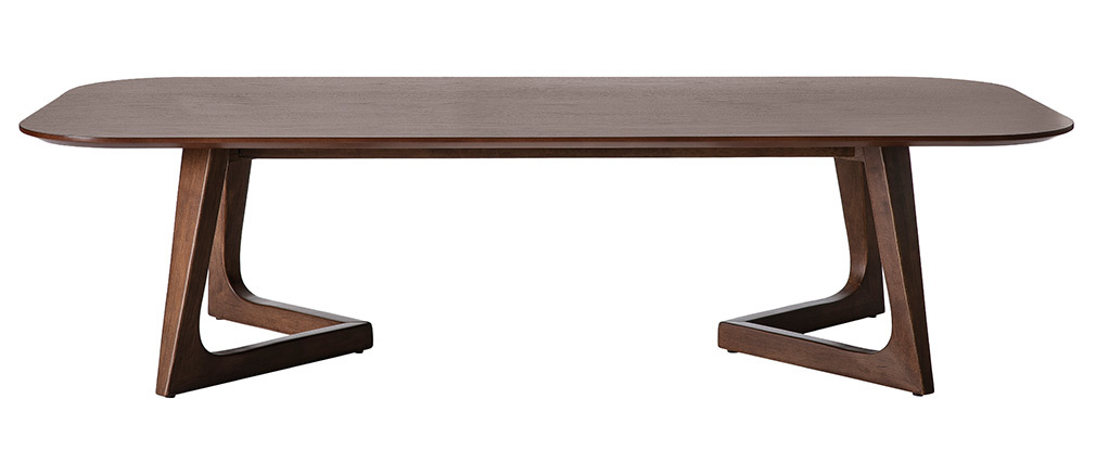 JUKE Walnut Modern Coffee Table 150cm