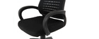 JUNIO black mesh designer office chair