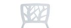 KATIA White Modern Chair (set of 2)