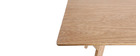 KYOTO Ash Modern Dining Table 160cm