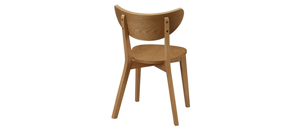 LEENA designer oak chairs (set of 2)