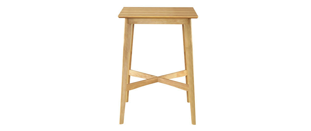 LEENA square standing table in light wood
