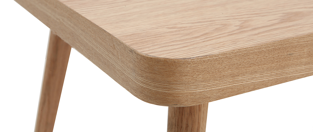 Light oak TOTEM coffee table