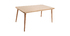 Light oak TOTEM designer dining table