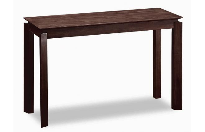 Malaysian oak console table peter colour wenge miliboo - Table console extensible wenge ...