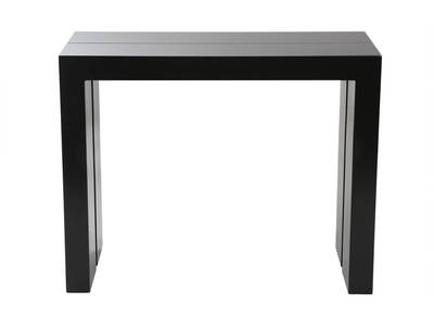 Matt Black Extending/Console Table CALEB