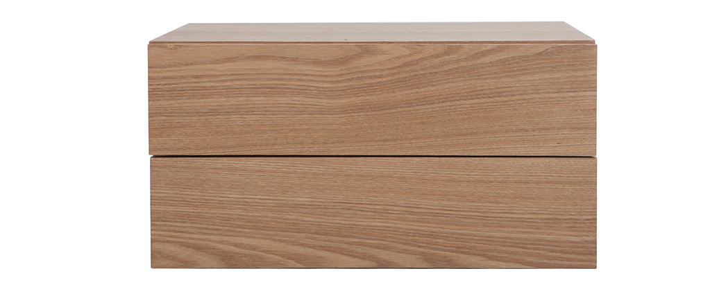 MAX Wood 2 Drawer Modern Storage Sideboard
