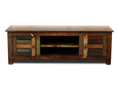 MAYOTTE Recycled Wood TV Stand