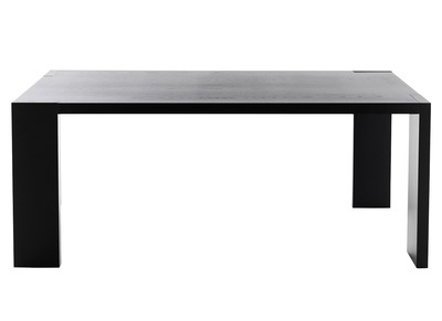 Modern Black Ash Dining Table 180 cm ASOS