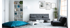 Modern glossy white coffee table LUNA