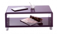 Modern lacquer purple ROXY coffee table