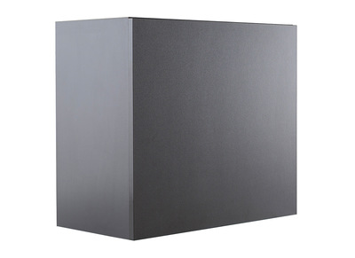 Modern Matt Charcoal Grey Square Wall Unit COLORED