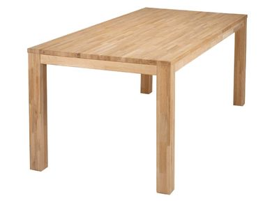 Modern Oak Dining Table 85x180cm LUPA