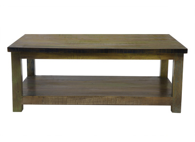 Modern Recycled Wood Coffee Table MAYOTTE