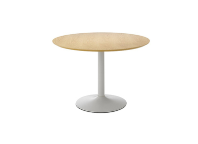 Modern Round Ash Dining Table 110cm TURAS