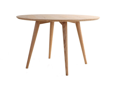Modern Round Dining Table LIVIA - Ash