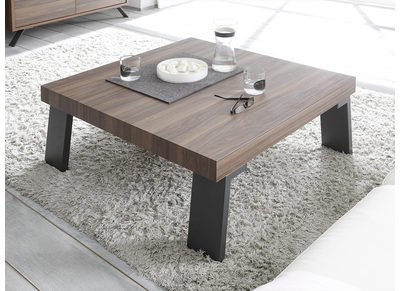 Modern Walnut Square Coffee Table ORIGIN