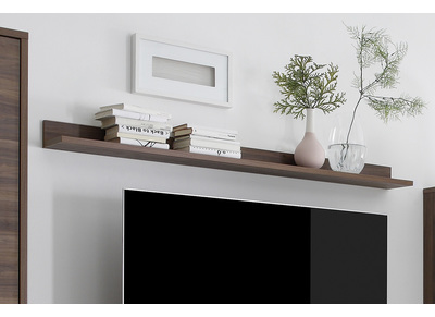 Modern Walnut Wall Shelf ORIGIN