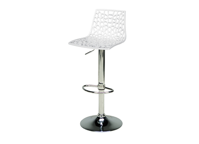Modern White Bar Stool ATRAX
