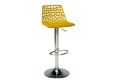Modern Yellow Bar Stool ATRAX