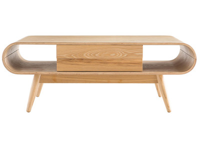 Natural Wood Scandinavian Coffee Table BALTIK