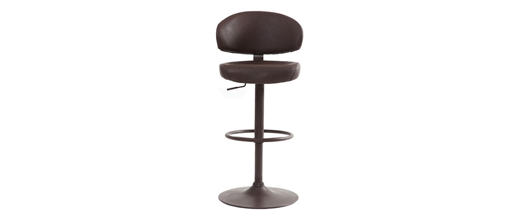 NEPTUNE aged brown bar stool