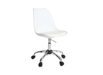NEW STEEVY White Chair with castors