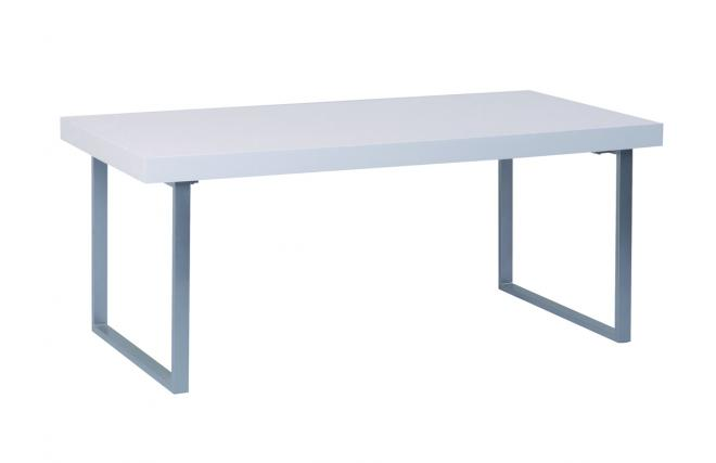 NEW YORK V2 White Rectangular Dining Kitchen Table This Item Is