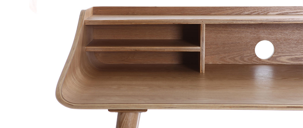 NORDECO Ash Wood Desk