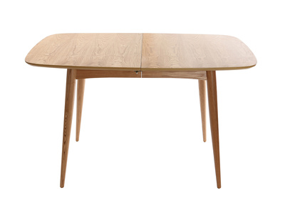 NORDECO Natural Ash Wood Extending Dining Table