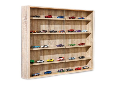 Oak Wall Display Case NATURA
