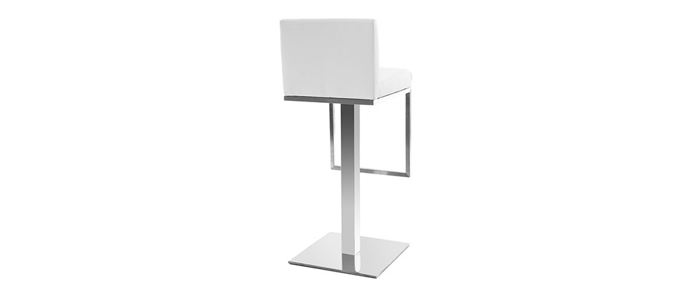 OMEGA White Modern Bar Stool