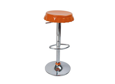 Orange Bar/Kitchen Stool CAPSULE (set of 2))