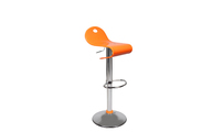 Orange bar stool up to you Celeste