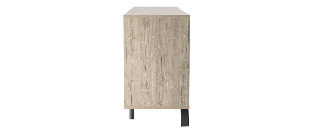ORIGIN Modern Oak 4 Door Sideboard
