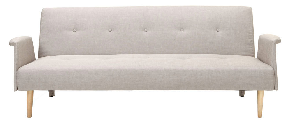 OSCAR designer natural sofa bed