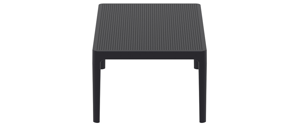 OSKOL black designer coffee table for both indoors and outdoors