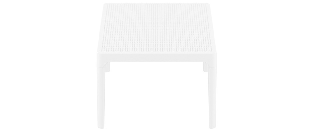 OSKOL white designer coffee table for both indoors and outdoors