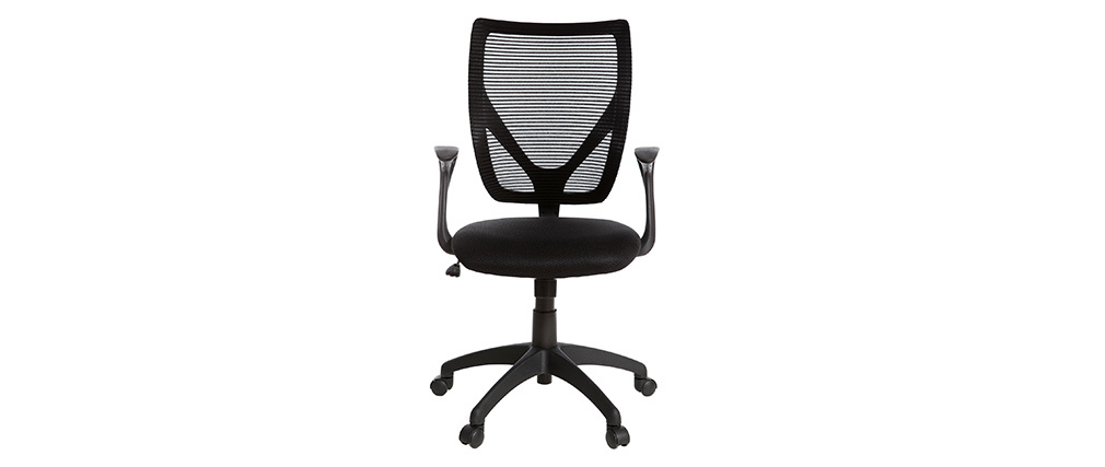 PAOLO black designer office chair