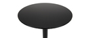 PENCO round black standing table