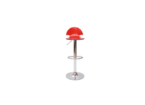 Plexiglas ORION bar stool - red