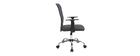 PLUZ grey mesh designer office chair
