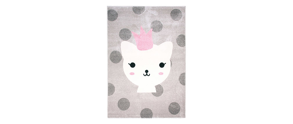 POLKA children?s rug with animal print 120x170cm
