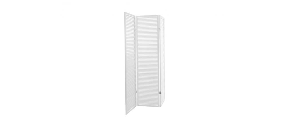 ROMANCE White Wood Screen