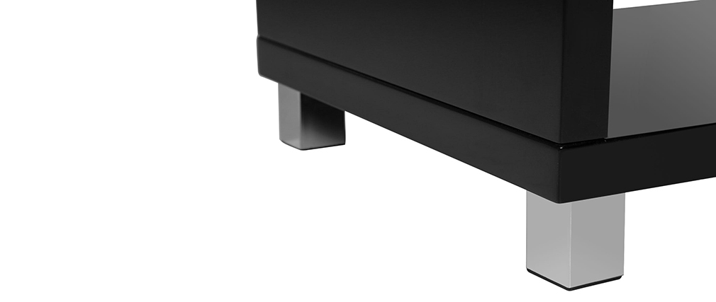 ROXY Glossy Black Modern Coffee Table