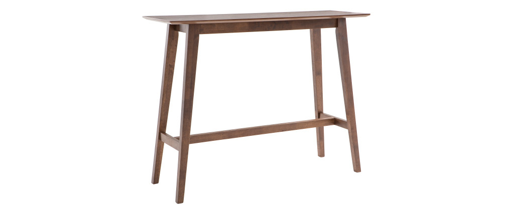 RUSSELL designer walnut console table