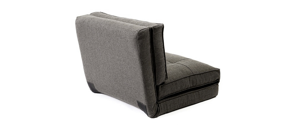 SALLY designer grey chair bed