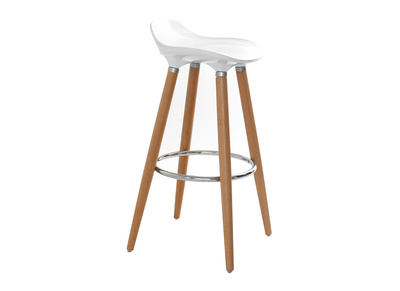 Scandinavian Style Bar Stool GILDA
