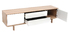 Scandinavian wood and white TV stand 180 cm SID