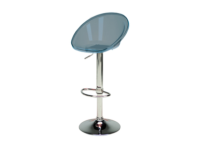 Smoked Grey Bar Stool MOPPY
